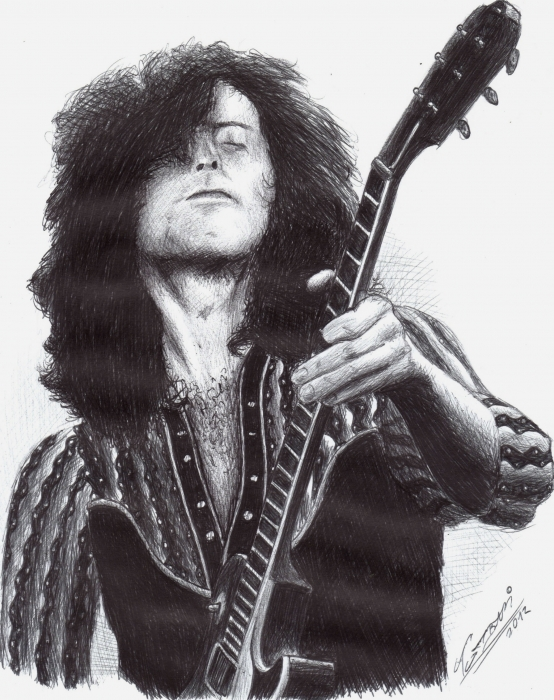 Jimmy Page by Tumbar